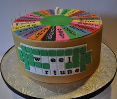 Wheel of Fortune by Stephanie (Cake Fixation), via Flickr.