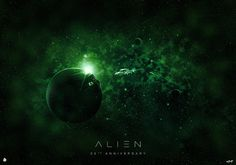 """Poster Posse pays tribute to Ridley Scott's 1979 thriller """"Alien"""" on it's 35th anniversary."""