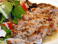 ButterYum: Indoor Grilled Pork Chops SO DELICIOUS