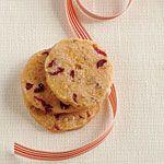 Cranberry-Pecan Cheese Wafers Recipe | MyRecipes.com