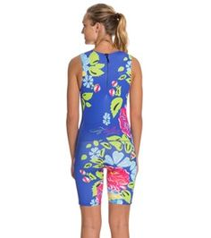 f25019a8f8 Triflare Women's Race for the Roses Trisuit at SwimOutlet.com - Free  Shipping