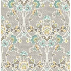 FREE SHIPPING! Shop Wayfair for Brewster Home Fashions Kismet Willow Nouveau Floral 33' x 20.5 Wallpaper - Great Deals on all Decor products with the best selection to choose from!