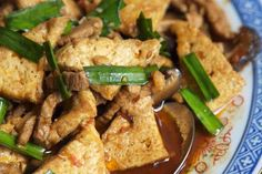 Tofu Stir-fry With Mushrooms and Bamboo Shoots Recipe
