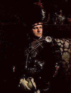 Archibald Prize Archibald 1930 finalist: Drum-Major Harry McClelland by W B McInnes