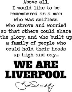 A text sticker with a famous and well loved quote from former Liverpool manager Bill Shankly. Liverpool Nightlife, Liverpool Memes, Liverpool Poster, Gerrard Liverpool, Anfield Liverpool, Liverpool Fc Wallpaper, Salah Liverpool, Liverpool Team, Liverpool History