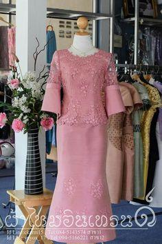 Dress Brukat, Batik Dress, Traditional Fashion, Traditional Dresses, Kebaya Modern Dress, Muslimah Wedding Dress, Batik Fashion, African Dress, Simple Dresses