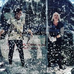NEWS FLASH - Snow reported at Brisbane International Airport. Okay I may be inside a snow globe. Celebrating new direct Brisbane to Vancouver flights by Air Canada. #snow #fakesnow #snowglobe #airports