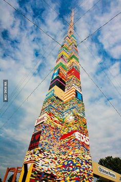 The Guinness world record for the tallest Lego structure