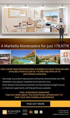 A Marbella Masterpiece Marbella Property, Real Estate Website Design, Email Design, Property Listing, Malaga, Digital Marketing, Ads, Email Newsletter Design