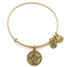 Rhode Island Charm Bangle | Alex and Ani ~ Reminds me of my Dad and Ray