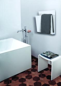 Magazine - Towel Warmer White by mg12