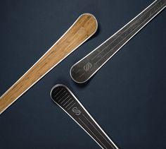 Sillage : skis d'exception fabriqués en France, Made In Vercors, pour la déco en attendant de dévaler les pistes