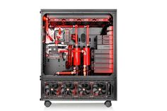 New Thermaltake TT Premium Core WP200 and W200 Super-Tower Chassis Dual System in One