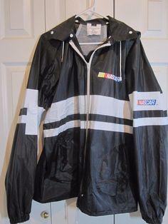 Men's NASCAR Rainmate V RAINCOAT/jacket SIZE L Black NEW Seven Sons #SevenSons #NASCAR