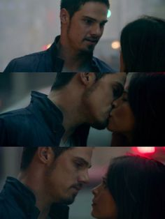 Beauty and the Beast ... Jay Ryan as Vincent Keller and Kristin Kreuk as Catherine Chandler ... Kissing <3