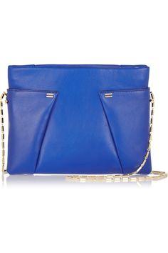 Roland Mouret|Montsouris leather shoulder bag|NET-A-PORTER.COM