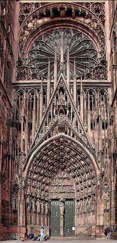Cathedrale de Strasbourg, France , from Iryna