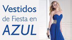 Vestidos en color azul (eléctrico, petróleo, noche, rey, celeste, marino, etc) #azul #vestidosdefiesta #moda #tendencias #trajesdenoche #estilo #HispaBodasTV