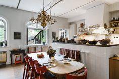 Kitchen Interior, Kitchen Design, Hotel Stockholm, Stockholm Sweden, Communal Kitchen, Ikea, Ceiling Decor, Dining Area, Dining Room