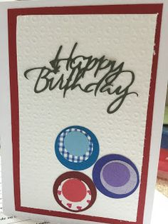 Colorful, Creative Cards: Happy Birthday!