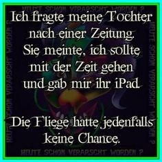 ...Zeit/ Ipad   ;-) Funny As Hell, Funny Cute, Hilarious, Funny Picture Quotes, Funny Pictures, Funny Facts, Funny Memes, Good Jokes, Life Is Hard