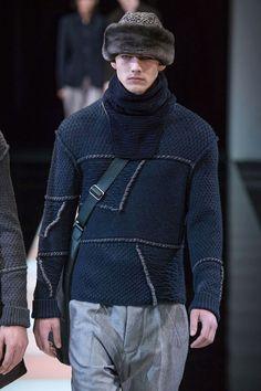 Giorgio Armani Fall/Winter 2015/2016 Menswear - Milan | Men's Fashion |  www.designerclothingfans.com