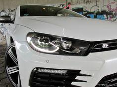 Volkswagen Scirocco R Facelift 2014 2015 weiss
