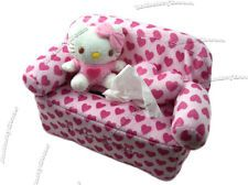 Leather Sleeper Sofa NEW Sanrio Hello Kitty Sofa Car Kitchen Bedroom Plush Doll Tissue Box Cover the link