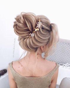 160 sophisticated prom hair updos – page 1 Studio Hair, Bridal Hair Updo, Quinceanera Hairstyles, Elegant Wedding Hair, Wedding Hair Inspiration, Bride Hairstyles, Updos Hairstyle, Hairstyle Ideas, Gorgeous Hair