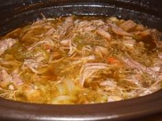 Italian Beef.  This was the hit of my Super Bowl Party.  I was trying to recreate the Italian Beef I had as a child in Chicago.  Came out great!  Made in the crock pot so it is really easy.