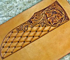 Learning to Carve Leather - The Knife Network Forums : Knife Making Discussions