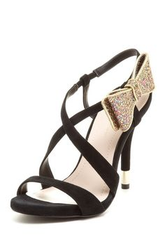 BCBGeneration Isaac Bow High Heel Sandal by Head Over Heels on @HauteLook You need these <3