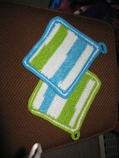 Front of Potholders