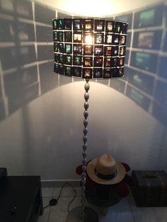 Lampe diapo d'antan