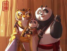 Master tigress and po picture 865