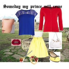 Snow White casual, created by dana15 on Polyvore