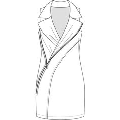 Fashion croquis templates illustrator via Polyvore | Girl's ...
