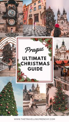 Everything you need to know before visiting the Christmas markets in Prague: what to do, eat, drink, buy and what are the Czech Christmas traditions! Christmas Markets Europe, Christmas Travel, Holiday Travel, Christmas Time, Christmas In Prague, Christmas Destinations, Prague In Winter, Christmas Breaks, Christmas Events