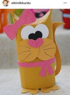 Sanat etkinlikleri kolaj çalışması çocuk gelişimi kedi