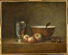 Jean Baptiste Siméon Chardin Le Gobelet d'argent