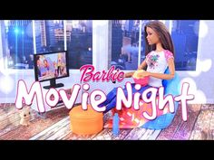 Unbox Daily:  Barbie Movie Night and Kitten Play Set - Review - 4K - YouTube