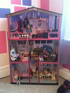monster high doll house | Monster High Doll House DIY