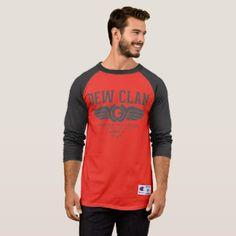 Tree Men& Champion Sleeve Raglan T-Shirt - mens sportswear fitness apparel sports men healthy life T Shirt Custom, T Shirt Diy, Anti Trump T Shirts, Raglan Shirts, Sport T Shirt, So Little Time, Sport Outfits, Fitness Apparel, Funny Tshirts