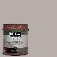 BEHR Premium Plus Ultra 1-Gal. #UL250-9 Vintage Mauve Interior Eggshell Enamel Paint