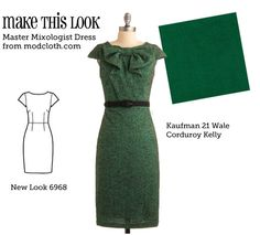 geeking out about this site. sewing patterns matched to modcloth dresses - so I can make my own if the modcloth variety is too expensive... as it so often is for my budget...