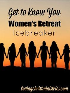 Looking for a great way to mix and mingle at your next retreat? This 'Get to Know You' activity is a super fun women's retreat icebreaker.