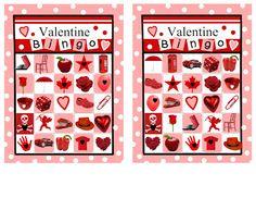 Valentine Bingo different sets of cards, pictures and numbers Valentine Bingo, Valentines Day Party, Valentine Day Crafts, Be My Valentine, Printable Valentine, Free Printable, Bingo Pictures, Bingo Card Generator, Valentine's Day Printables