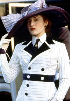 High Fashion on the High Seas.  From Titanic.