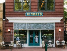 Kindred, Davidson, NC - Bon Appétit (rehearsal dinner?)