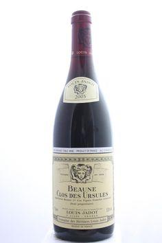 Louis Jadot (Domaine Des Héritiers Louis Jadot) Beaune Clos Des Urules 2005. France, Burgundy, Beaune, Premier Cru. 11 Bottles á 0,75l. Estimate (11/2016): 550 USD (50 USD (1.218 CZK) / Bottle).